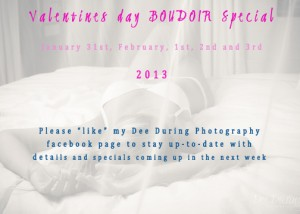 Valentines Day Special-Boudoir Photoshoot