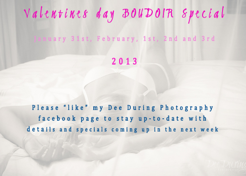 Valentines Day Specials With Dee During Photography