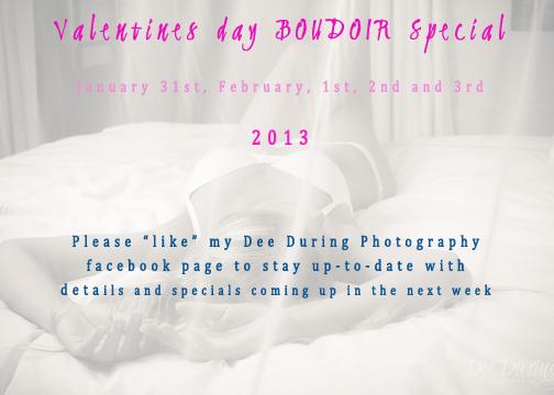 Valentine's Day Specials | Boudoir Fun
